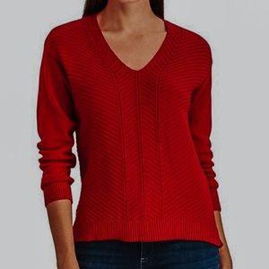 Chaps Red Sweater